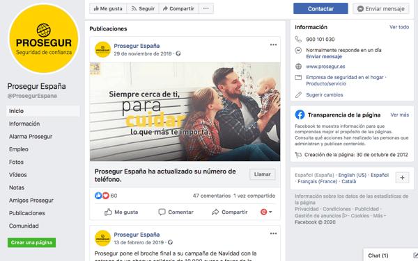 Facebook-prosegur