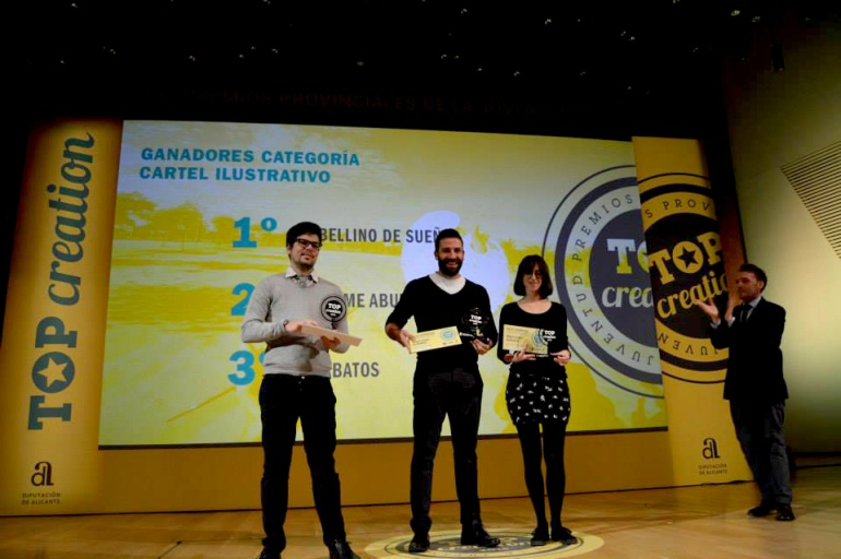Nuestro compañero Omar Serrano se alza con el 2º Premio Top Creation 2014