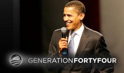 Obama comienza a calentar motores: GEN44