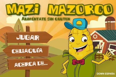 Mazi Mazorco, una aplicación móvil para aprender jugando sobre la celiaquía