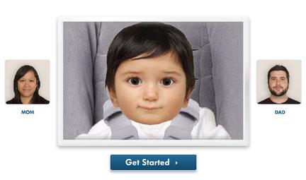 ¿A quién se parece más? ¿A papá o a mamá?